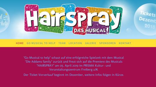 Irina Kühn beim Musical Hairspray
