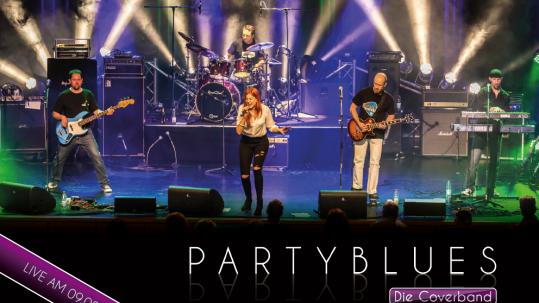 Coverband PARTYBLUES mit Sängerin Irina Kühn