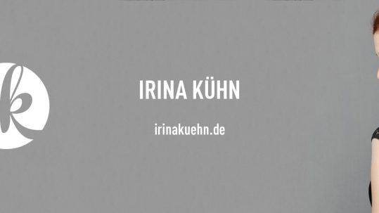 Sängerin Irina Kühn mit neuer Website